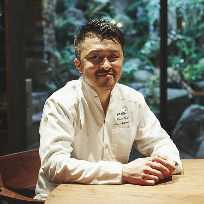 京都を代表するイタリアンcenci(チェンチ) オーナーシェフ 坂本健さん vol.1「生産者とお客様を繋ぎ、やりがいや喜びを提供。 その仕組みをつくり出すことが使命。」
