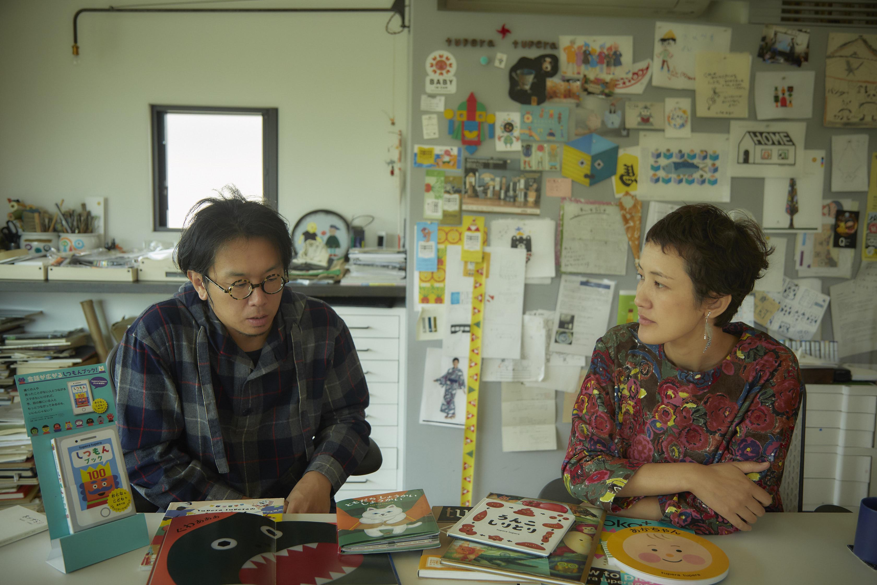 tupera tuperaインタビュー/読み手は最大の演出家。絵本を子供のものと決めつけず、人と人がつながるためのツールにしてほしい